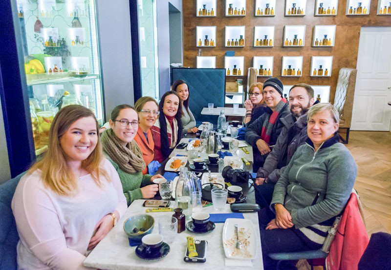 Reykjavik food tour group