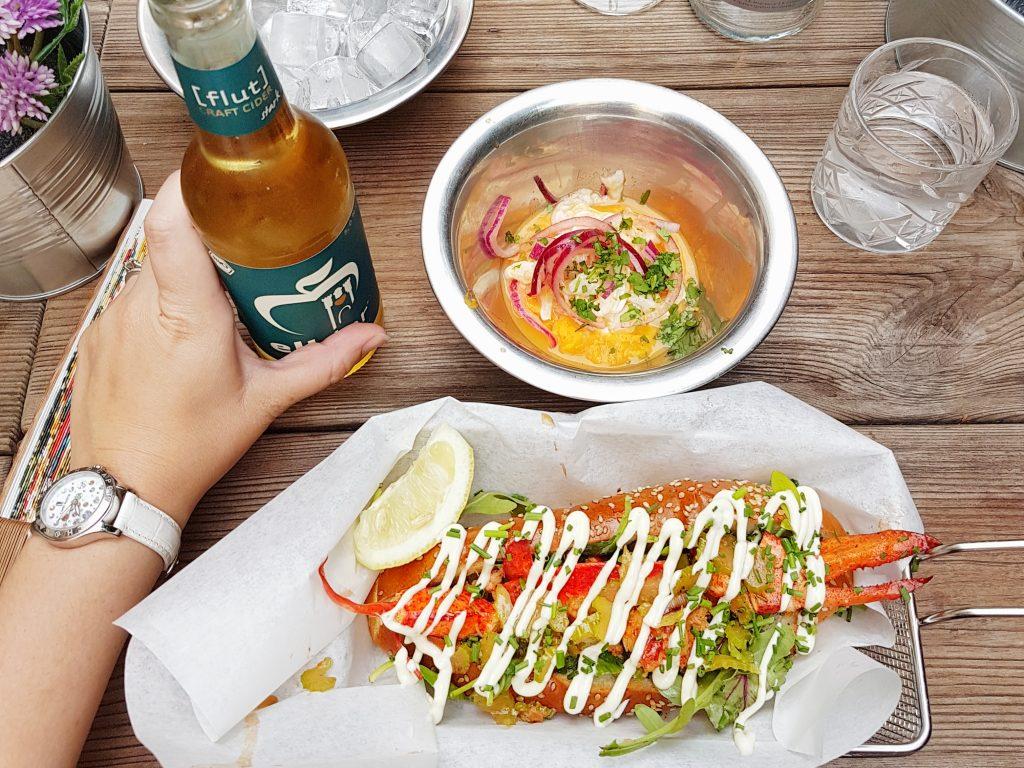 Underdocks - lobster roll