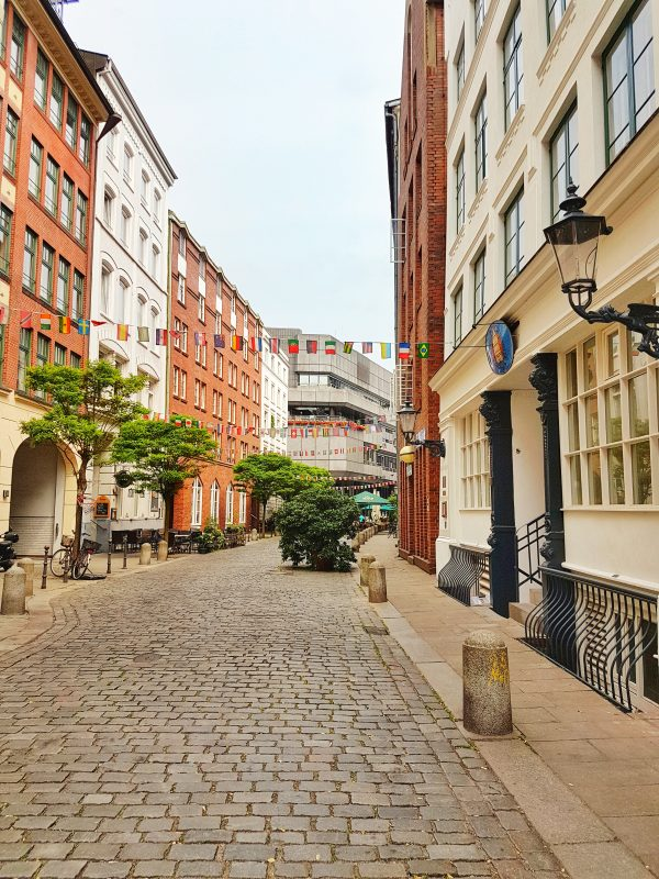 Cutest street in Hamburg