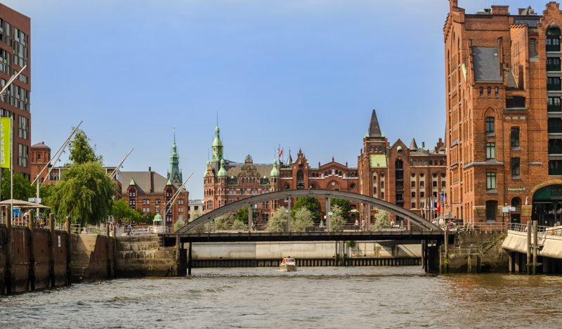 Hamburg Warehouse district