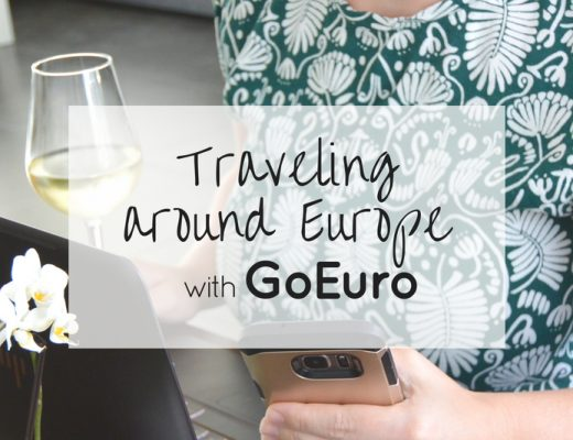 Traveling around Europe with GoEuro