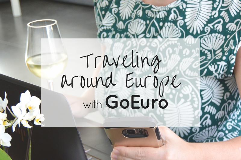 Traveling around Europe with GoEuro