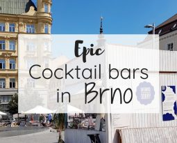 Epic cocktail bars in Brno