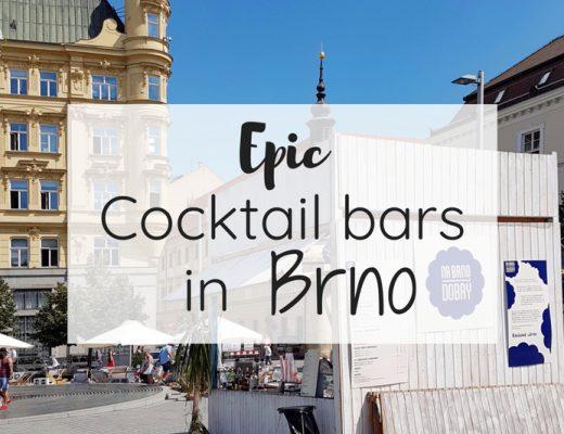 Epic cocktail bars in Brno