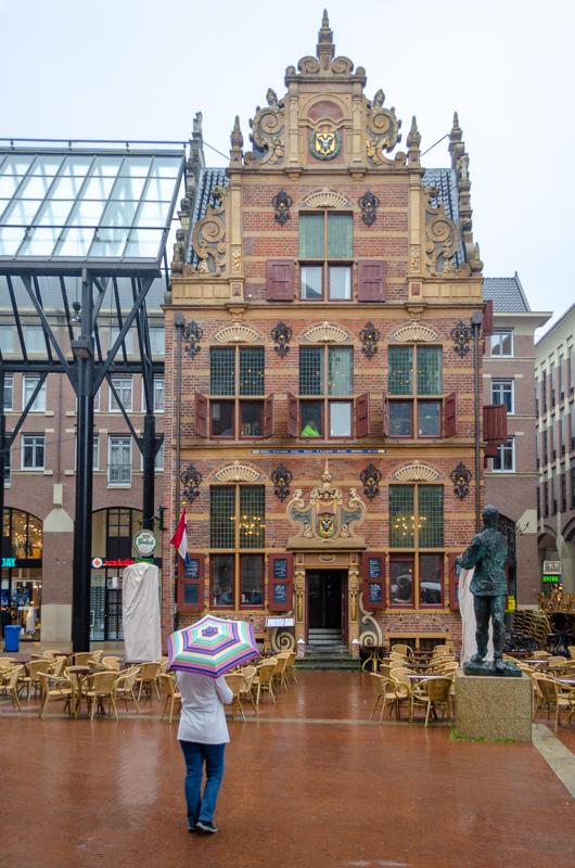 Groningen in the rain