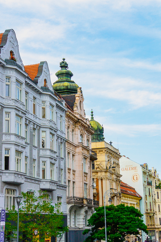 Things to do in Brno Czech Republic street view
