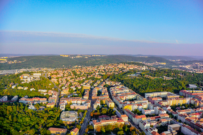 View over Brno
