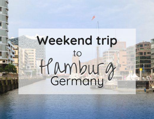 Weekend trip to Hamburg, Germany