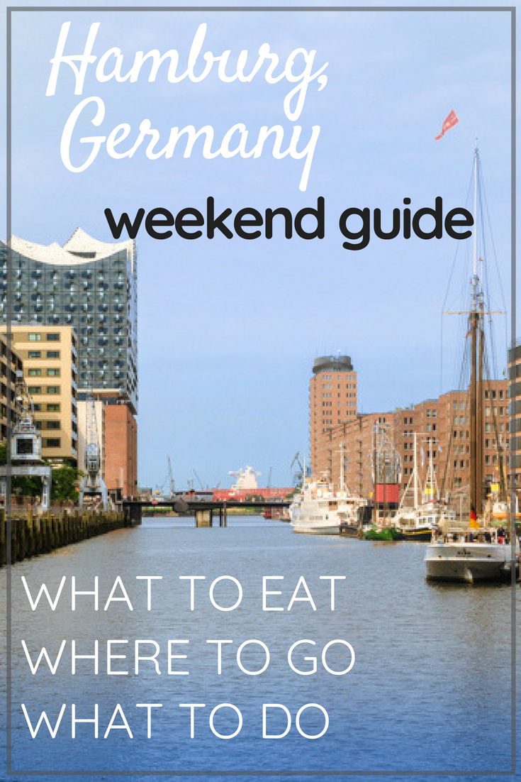 A guide to spending the perfect weekend in Hamburg, Germany || Food, drinks, and activities ||