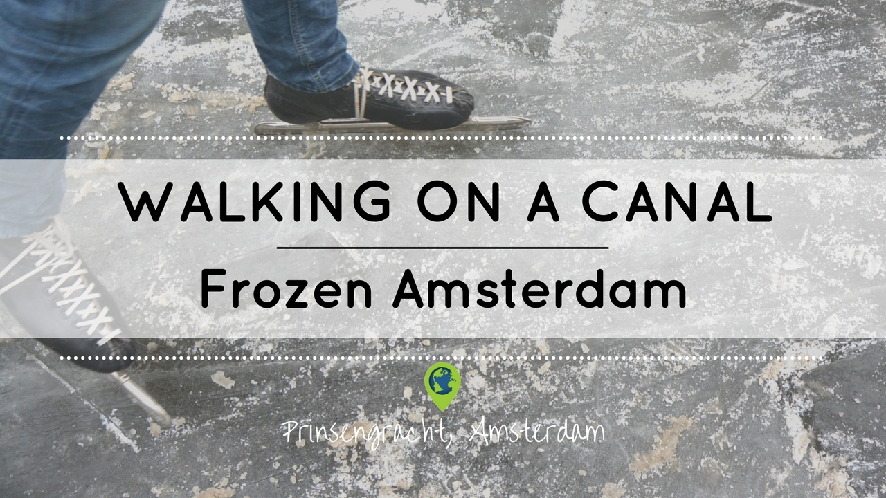Ice skating in Amsterdam on YouTube