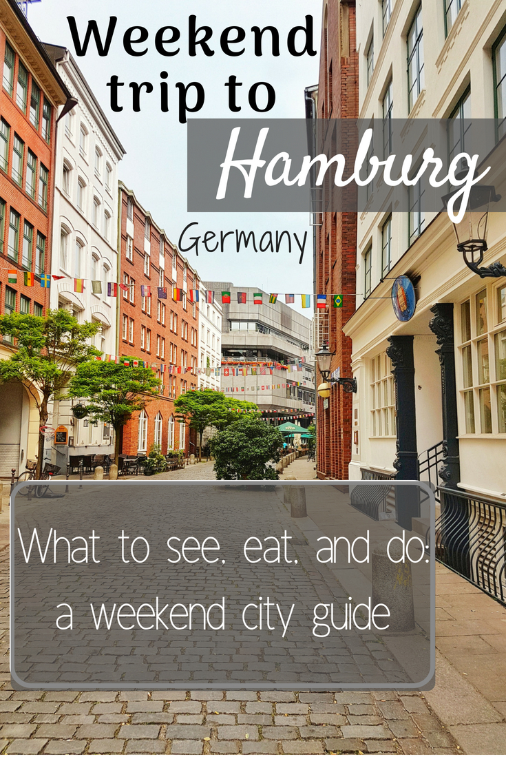 A guide to spending the perfect weekend in Hamburg, Germany || Food, drinks, and activities