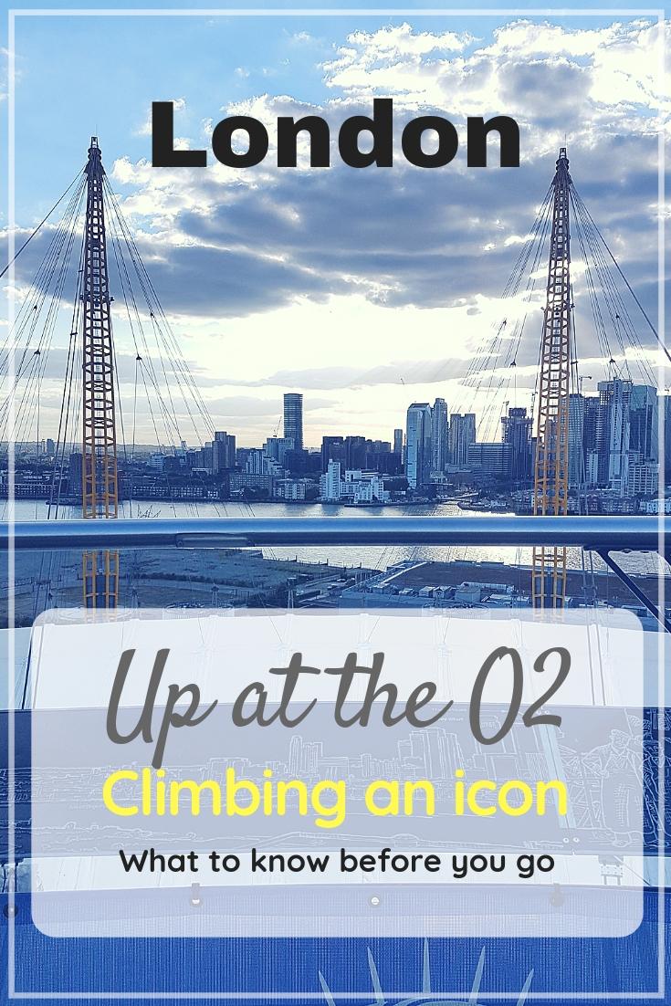 Up at the O2 climb | Climbing an icon of London