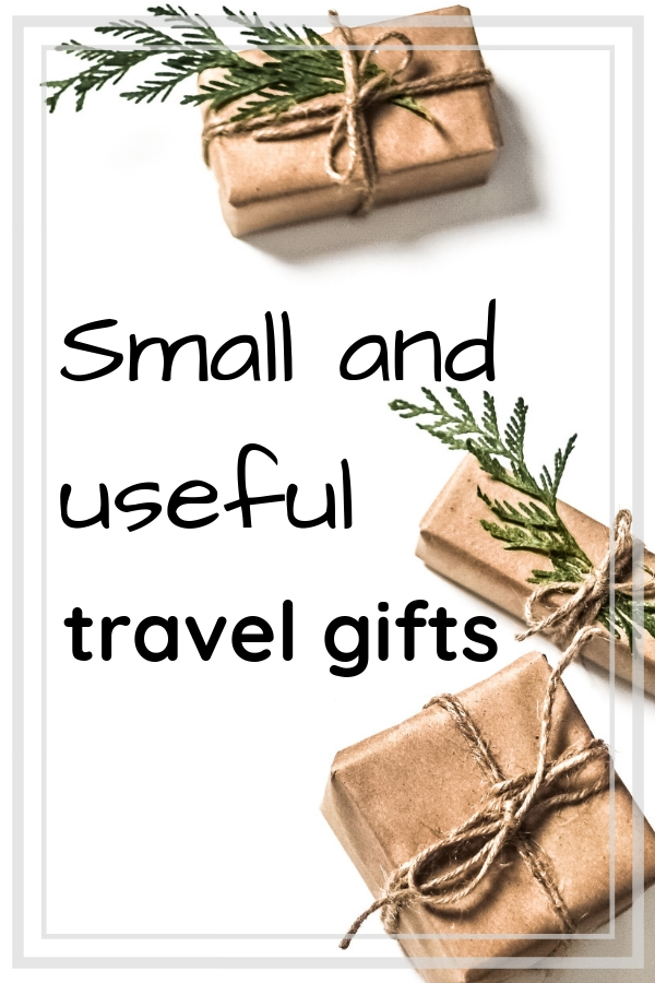 Small and useful travel gifts | practical gifts that are small and affordable for those who love to travel