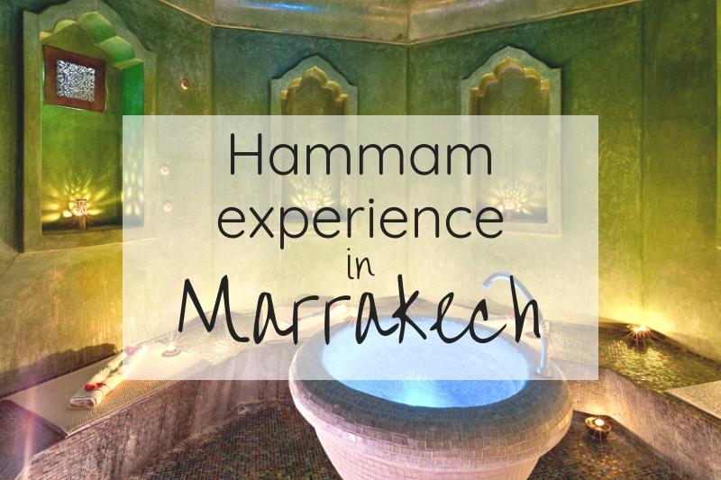 Hammam experience in Marrakech