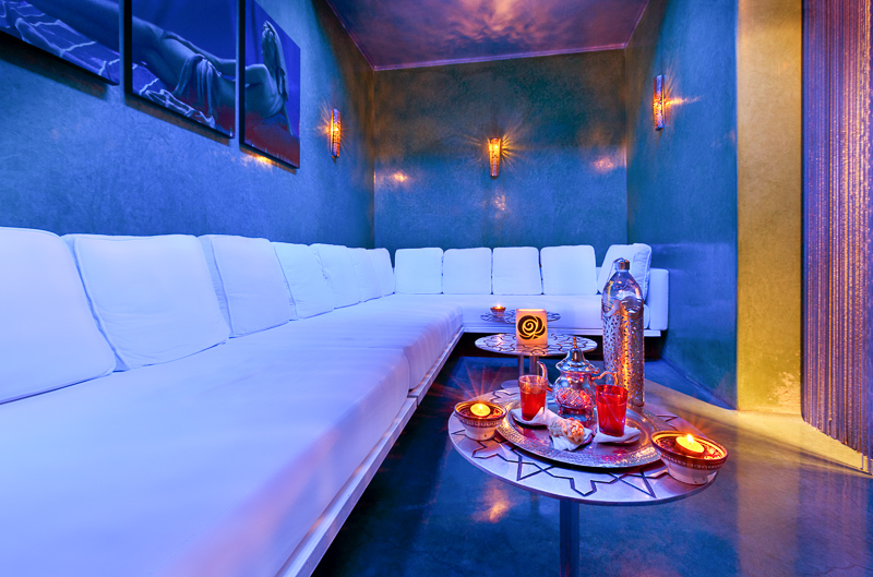 Hammam de la Rose relaxing room | My hammam experience in Marrakech