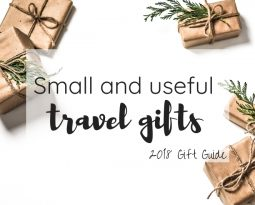 Small and useful travel gifts – 2018 gift guide