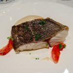 Cod with Blood Orange -- Monvinic, Bareclona