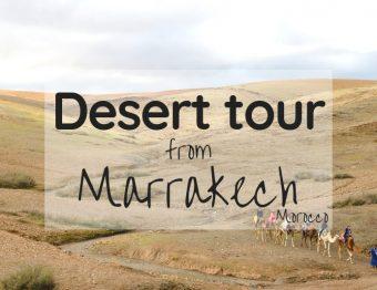 Marrakech excursions – Overnight desert tour from Marrakech