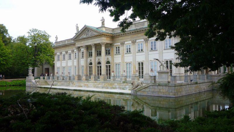 The Łazienki Palace.