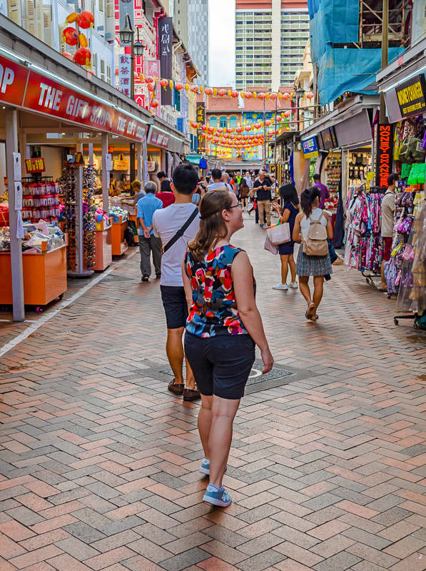 Jess in Chinatown Singapore
