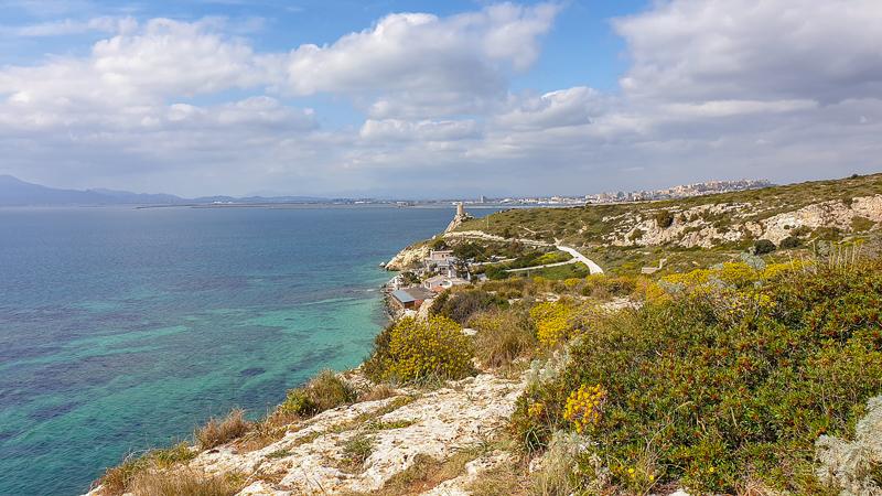Waters of Cagliari