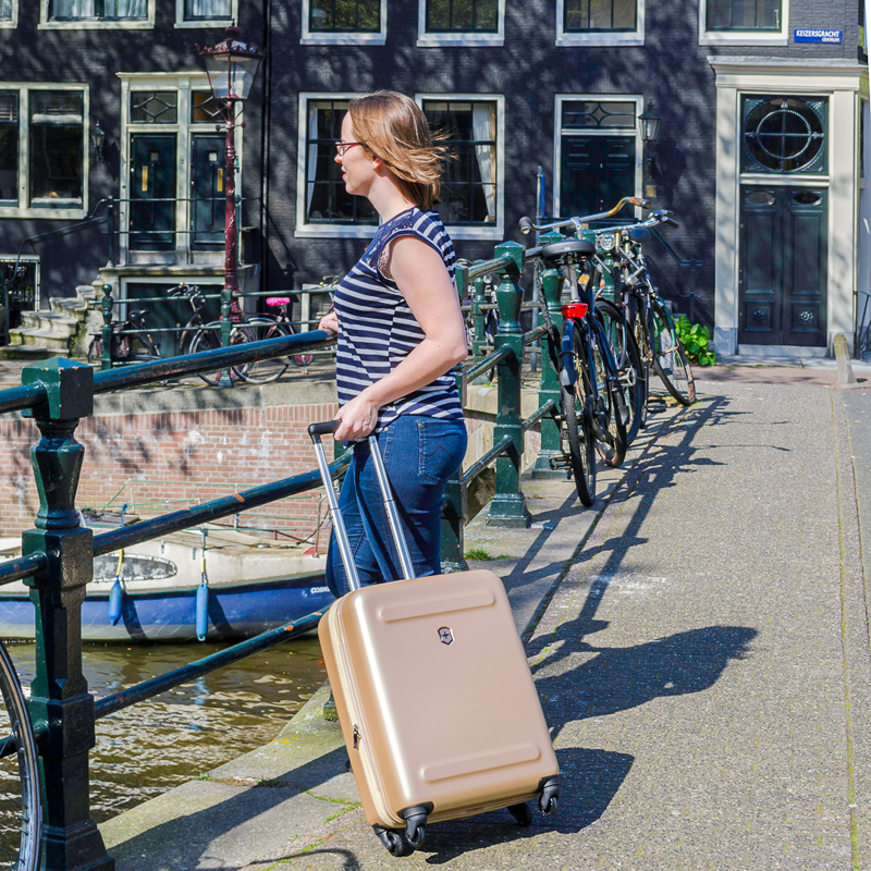 Victorinox bag in Amsterdam
