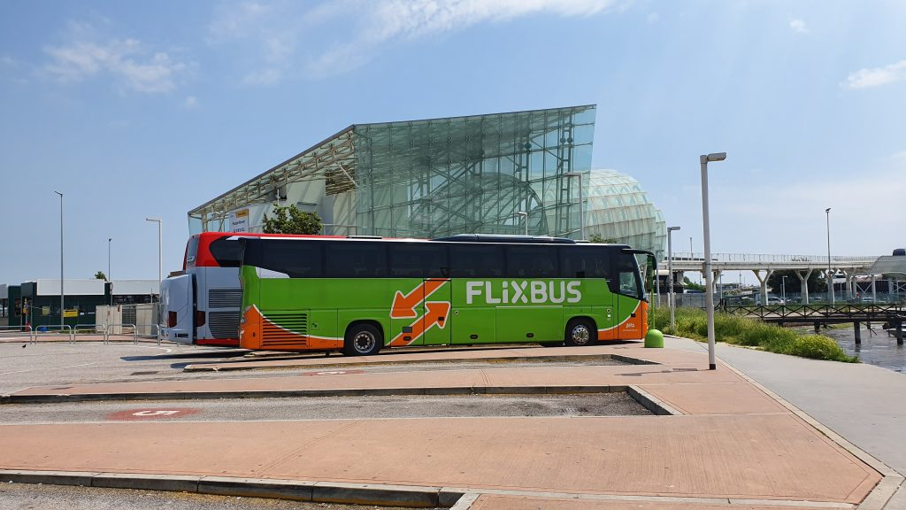 Venice Flixbus stop