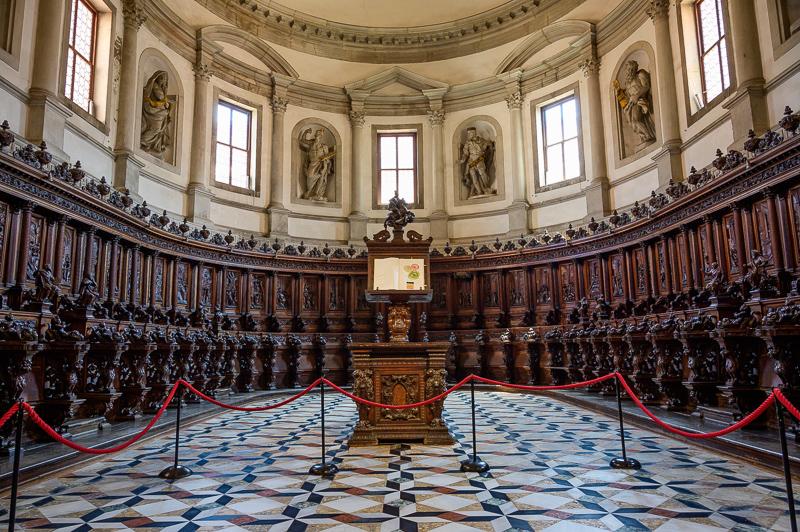 Inside Church of San Giorgio Maggiore