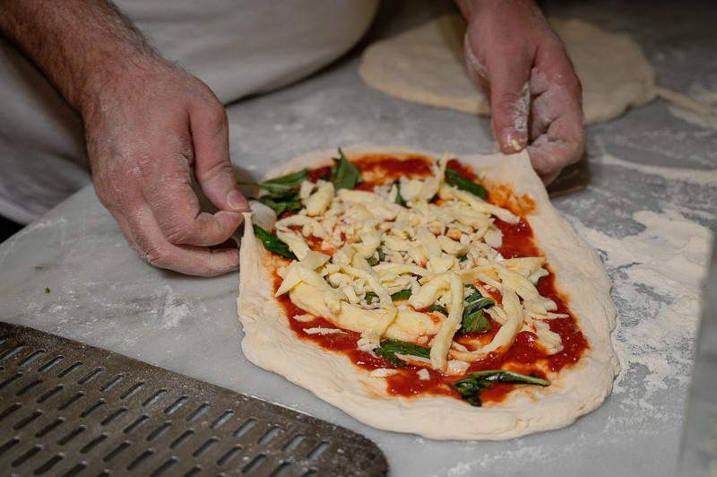 Ciro making pizza