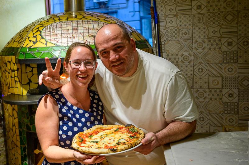 Jessica and Ciro at Antico borgo ai Vergini