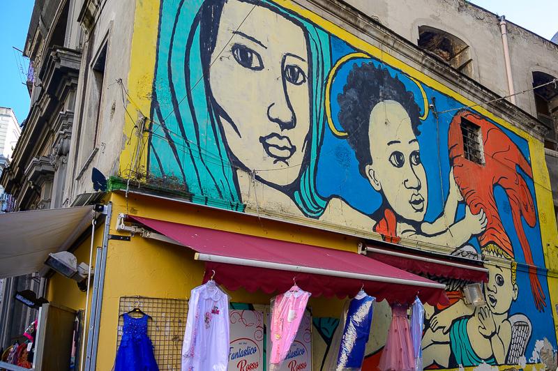 More street art in Naples