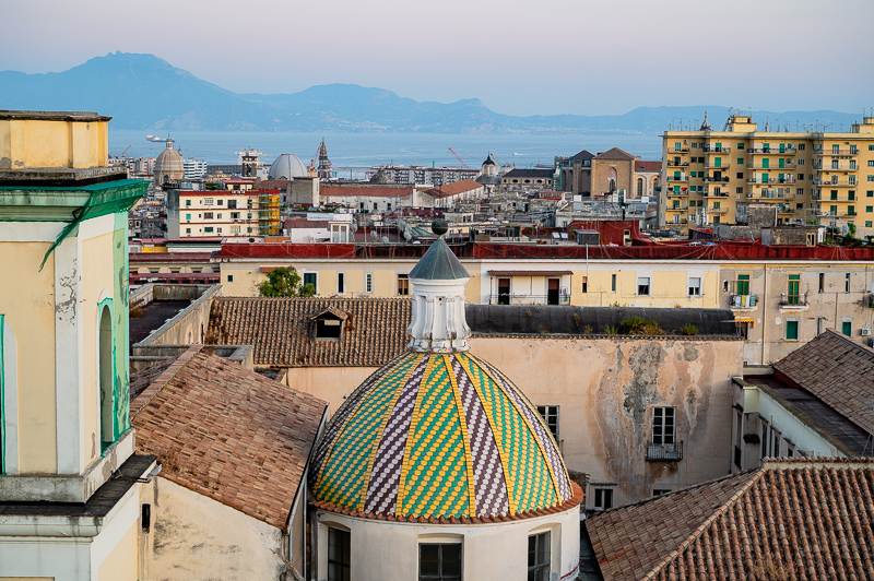 Views above Naples