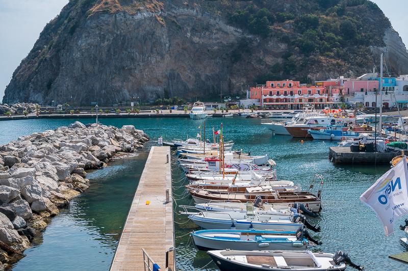Boats in Ischia