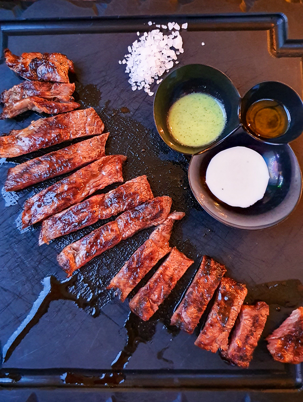 Steak in Ischia