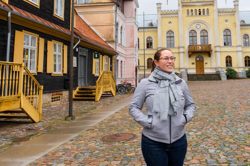 Jessica in Kuldiga