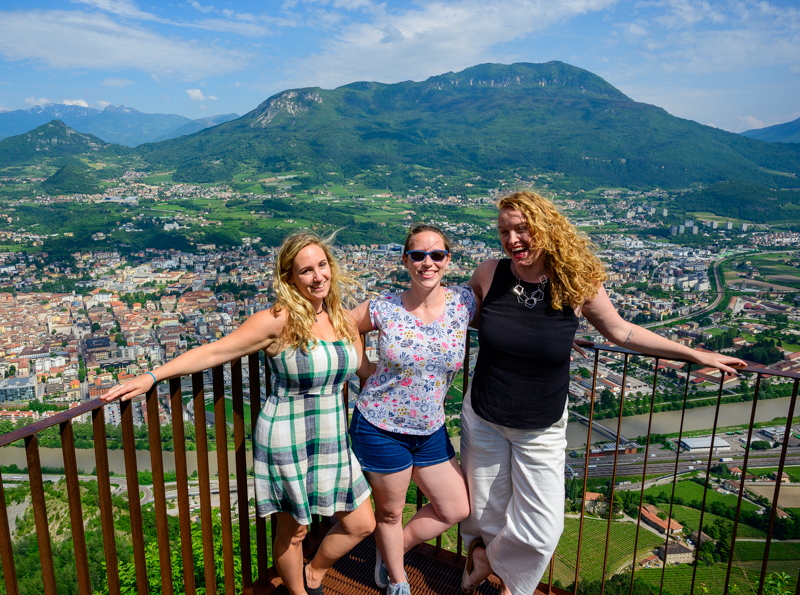 Trentino with travel bloggers