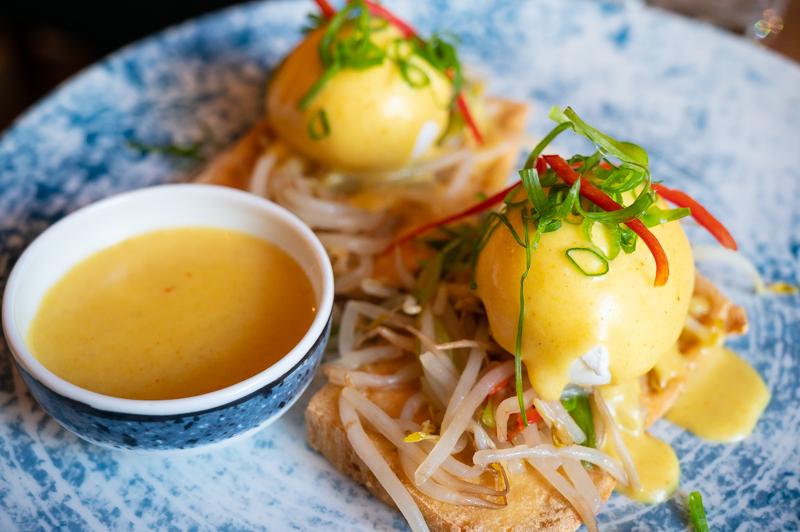 Eggs-on-tofu