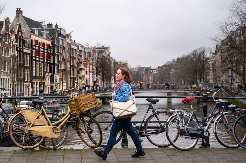 Everyday Tote V2 in Amsterdam