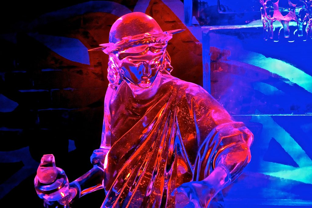 Ice sculpture event in the Netherlands