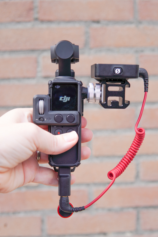 Osmo pocket vlogging setup