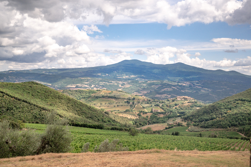 View of Tuscany
