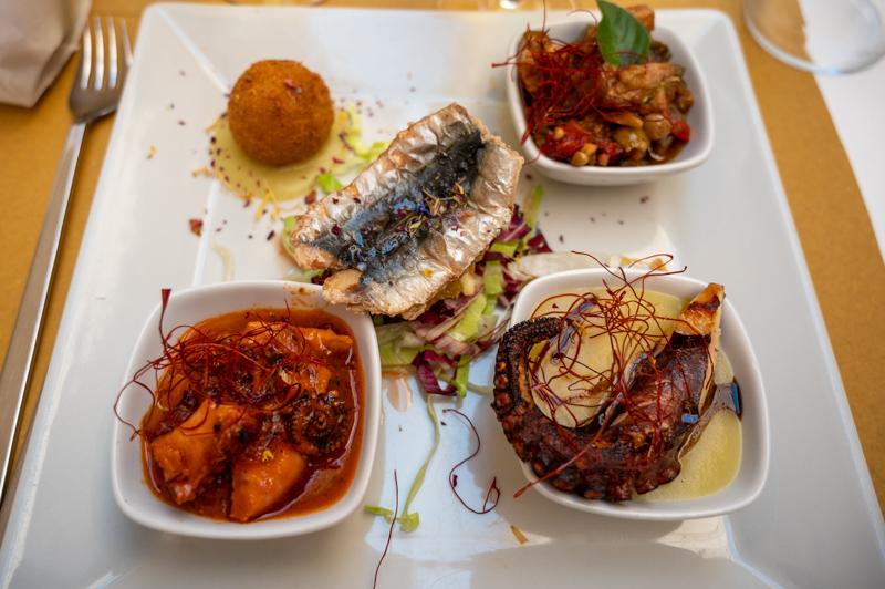 Seafood in Ortigia
