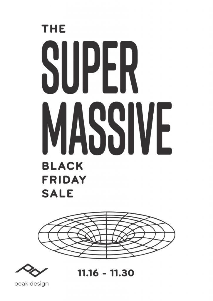 Peak Design's Black Friday Sale