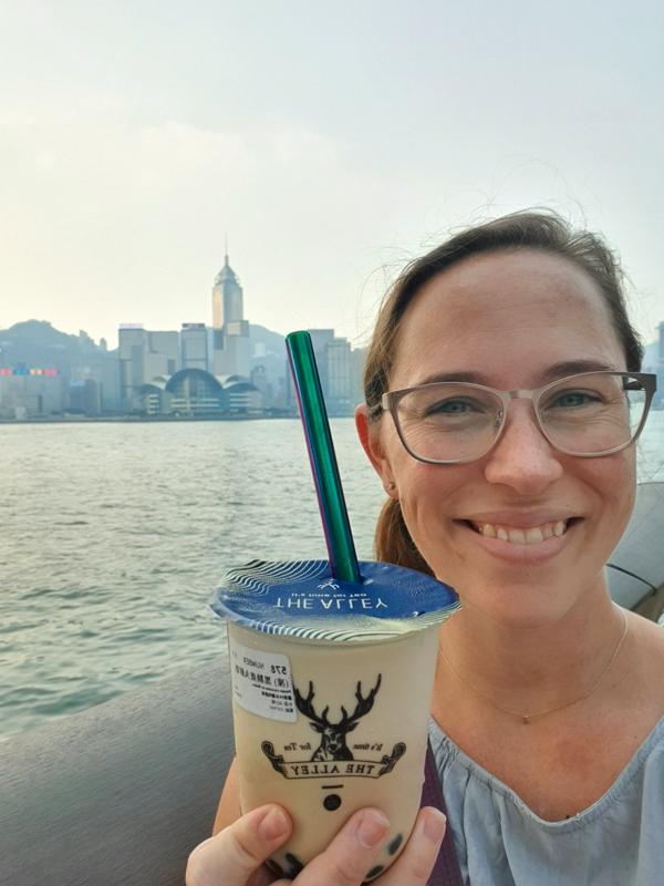 Bubble tea in Hong Kong