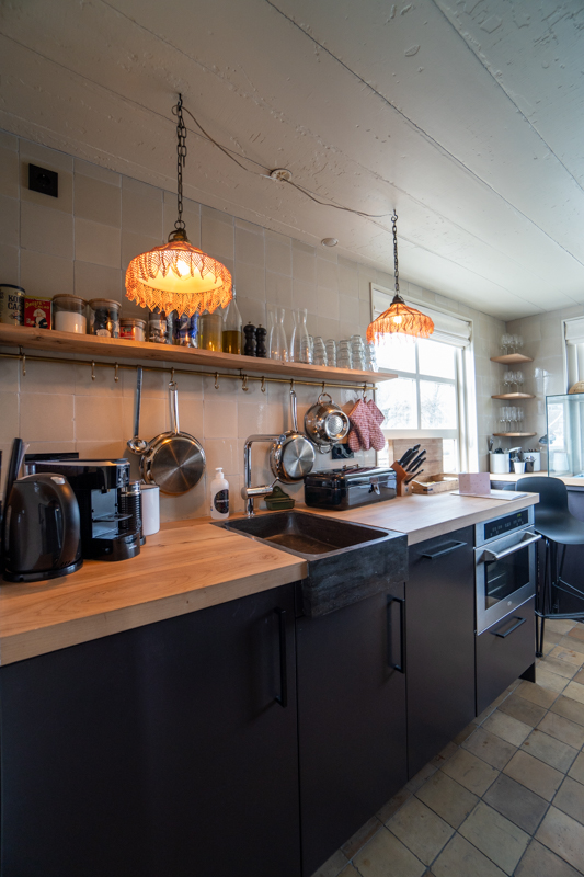 Kitchen in Amstelschutsluis Sweets Hotel Amsterdam - vertical